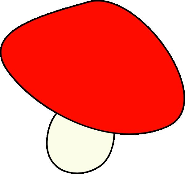 Red Mushroom Clip Art.