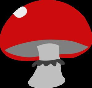 Red Mushroom Clip Art at Clker.com.