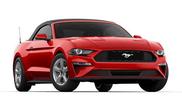 Red Ford Mustang PNG Clipart.