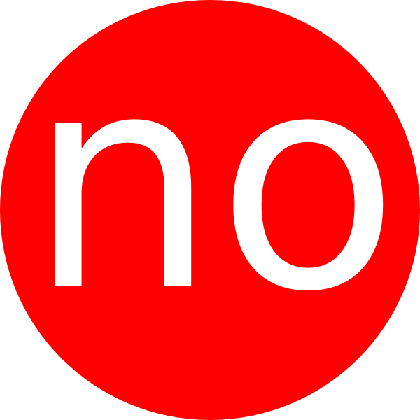 No Circle Clip Art at Clker.com.