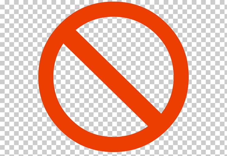 No symbol Circle , red circle, red circle with line sign PNG.