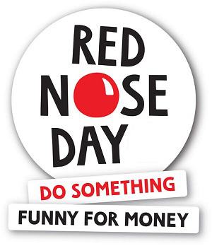 Mixing Red Noses and Business Body Language: Red Nose Day is May.