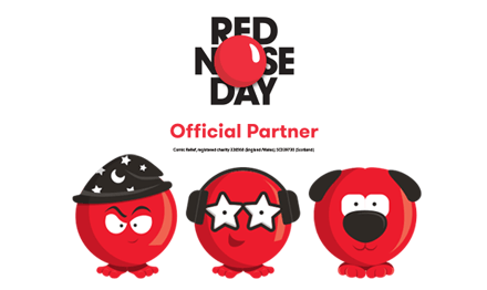 Red Nose Day.