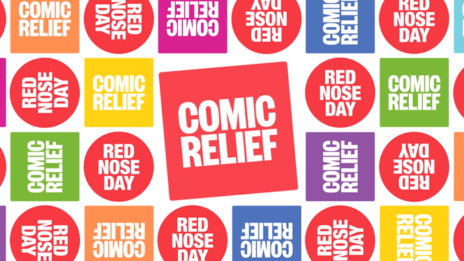 Transform magazine: Comic Relief and Red Nose Day rebrand.