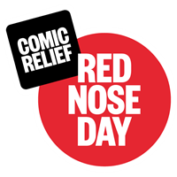 Comic Relief: Red Nose Day.