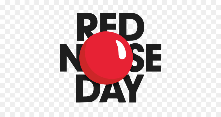 Red Nose Day png download.