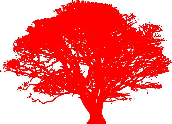 Red oak tree clipart.