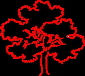 Red Oak Tree Silhouette Clip Art at Clker.com.