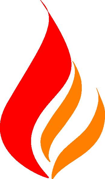 Red Flame Red Orange Clip Art at Clker.com.