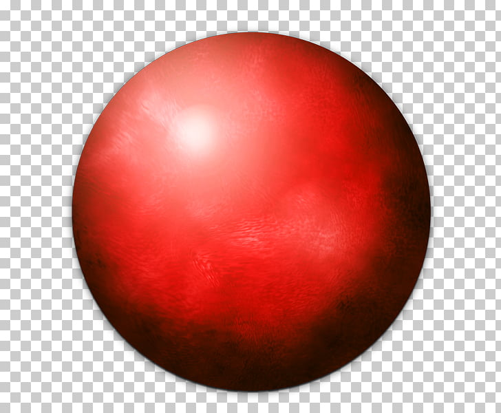 Sphere Orb Red, orb PNG clipart.