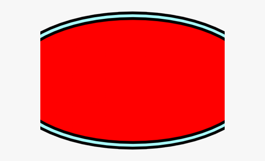 Oval Clipart Red Oval.