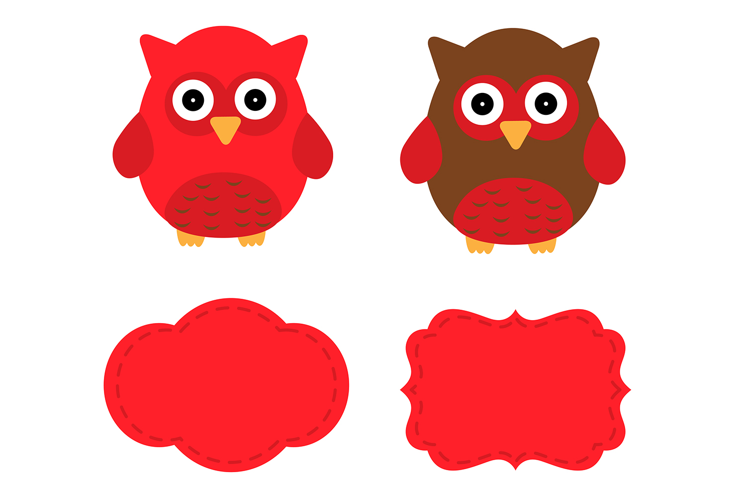 Red owl clipart 4 » Clipart Station.