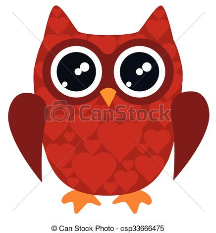 Red owl clipart 1 » Clipart Station.