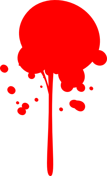 Red Paint Clipart.