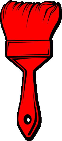 Red Paint Brush Clip Art at Clker.com.