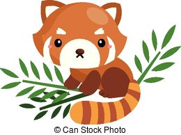 Red panda Clip Art and Stock Illustrations. 700 Red panda EPS.