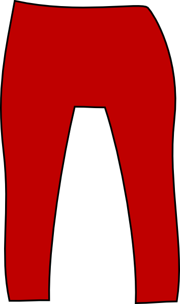 Red Pants Clip Art at Clker.com.