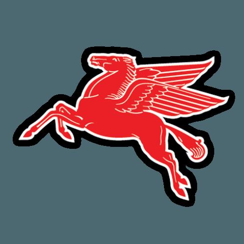 Mobil Oil Pegasus Logo.