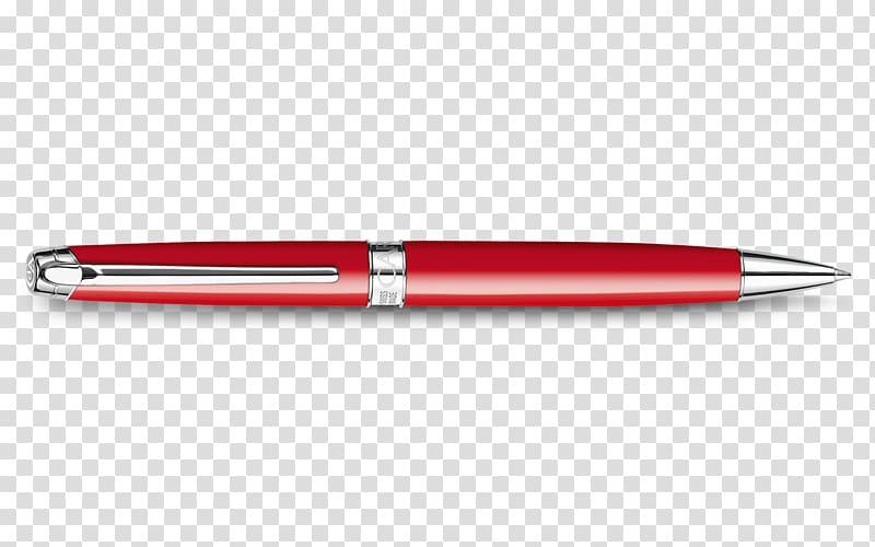 Ballpoint pen Office Supplies Caran d\\\'Ache Red, pen.