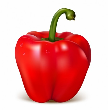 Red Pepper Clipart.