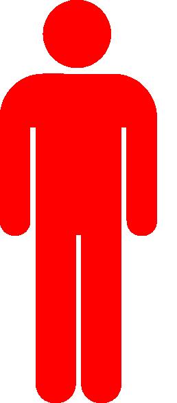 Red Person Symbol Clip Art at Clker.com.