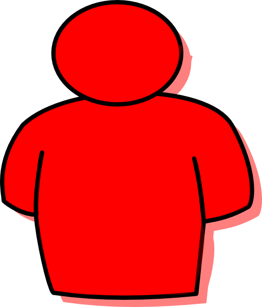 Red Man Clip Art at Clker.com.
