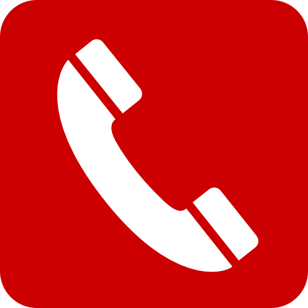 Phone Red Mobile Clip Art at Clker.com.