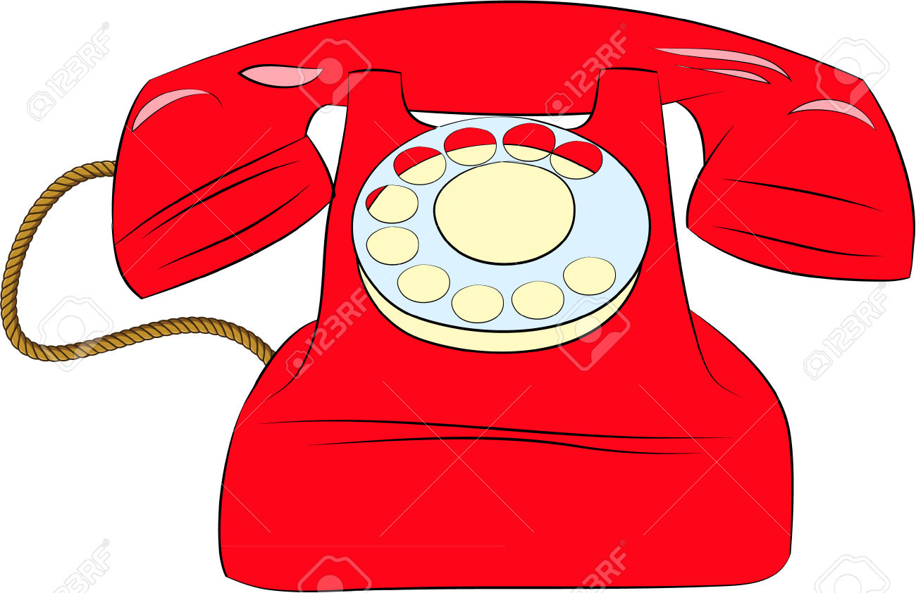 Red Telephone Royalty Free Cliparts, Vectors, And Stock.