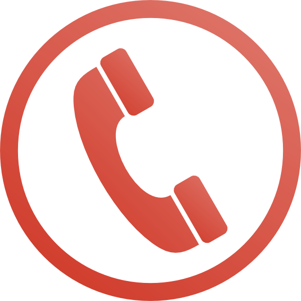 Red Phone Icon Clip Art at Clker.com.
