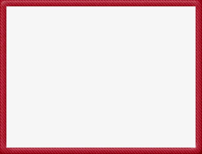 Red Frame Png & Free Red Frame.png Transparent Images #4140.