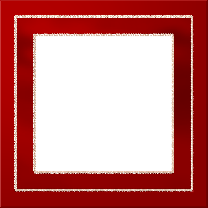 Red Frame PNG Images Transparent Free Download.