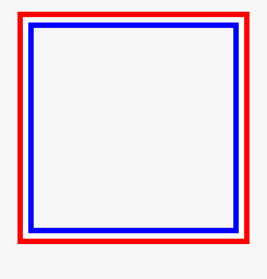 Clipart Red White Blue Frame Png Clipart Frame Png.