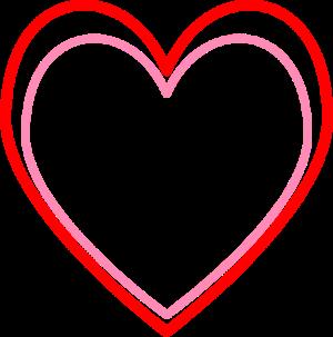 cute red heart clipart #10