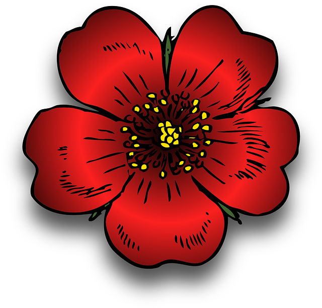 Free vector graphic: Plant, Red, Rosa, Rose, Wild.