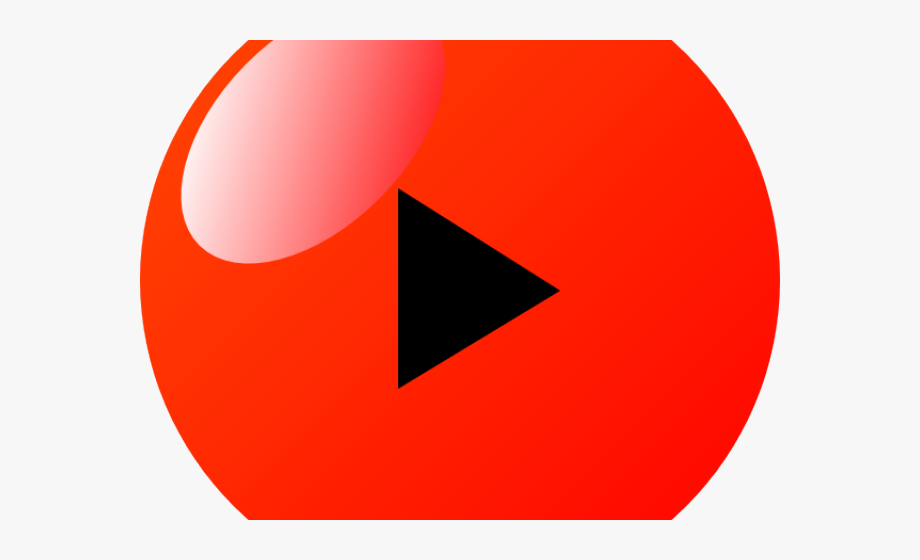 Play Button Clipart Red.