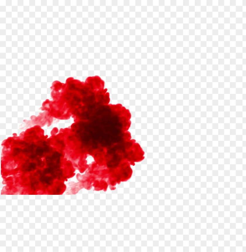 red smoke effect png PNG image with transparent background.