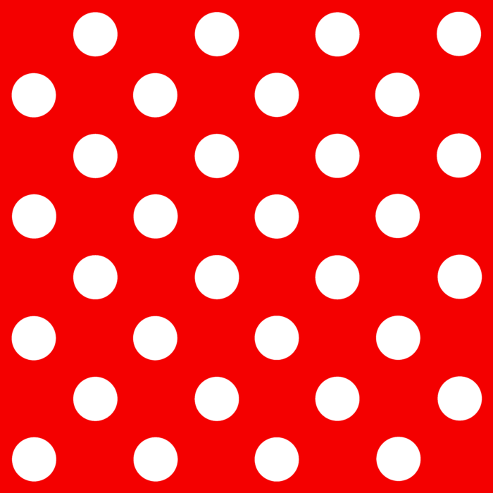 Pattern Dots Red White Clip Art.