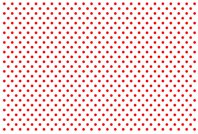 Free Clipart: Red Polka Dots.