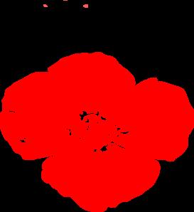 Red Poppy Clip Art at Clker.com.