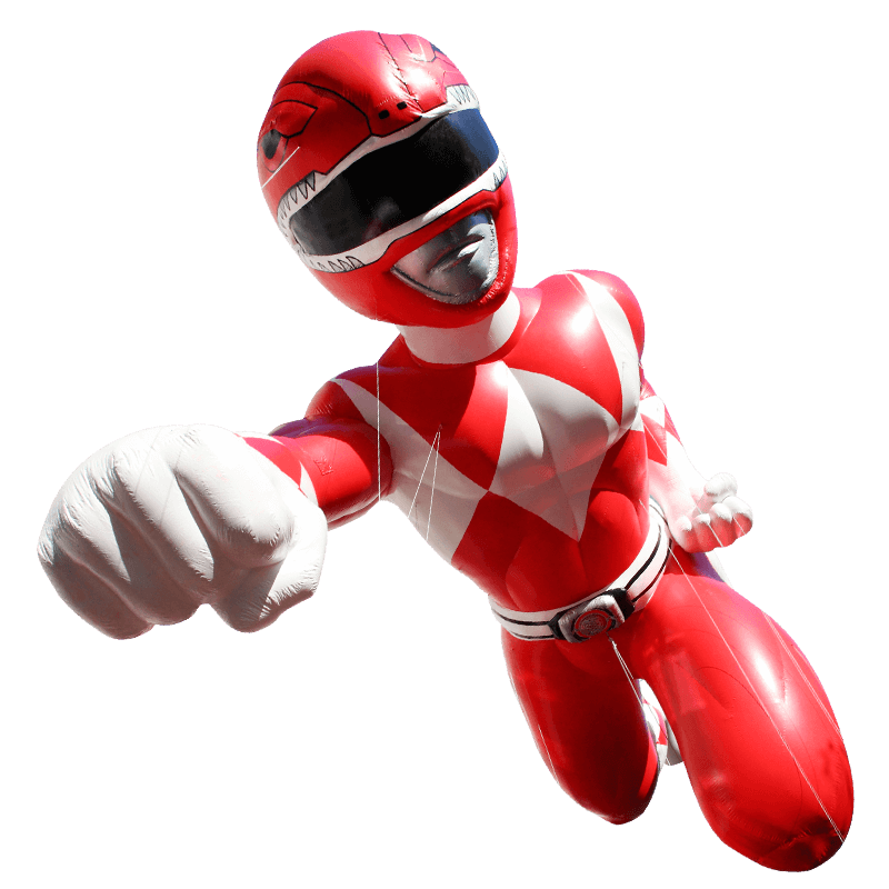Red Mighty Morphin Power Ranger.