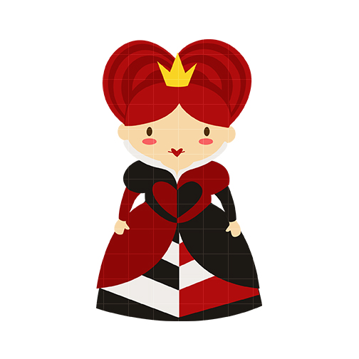 Red Queen Clipart.