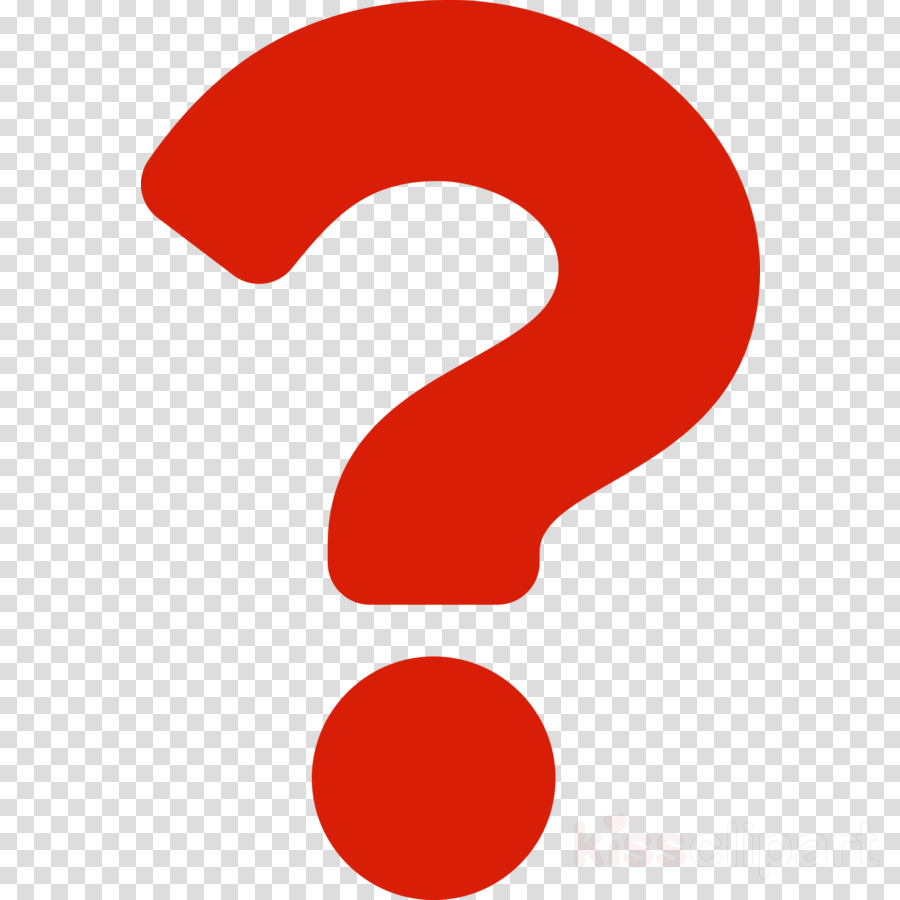 red question mark clipart.