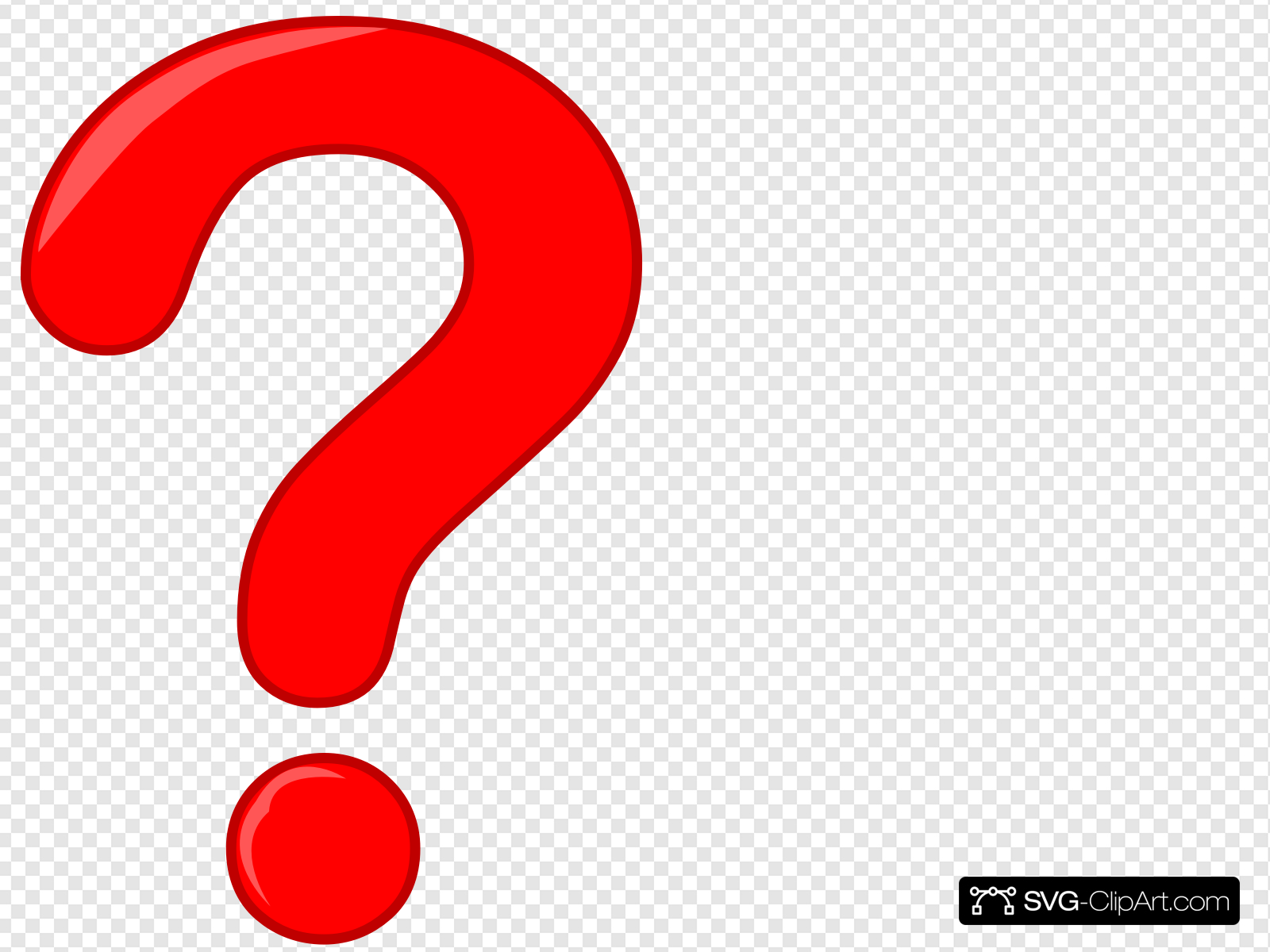 Question Mark Clip art, Icon and SVG.