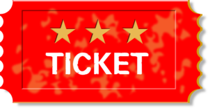 Red Ticket Clip Art at Clker.com.