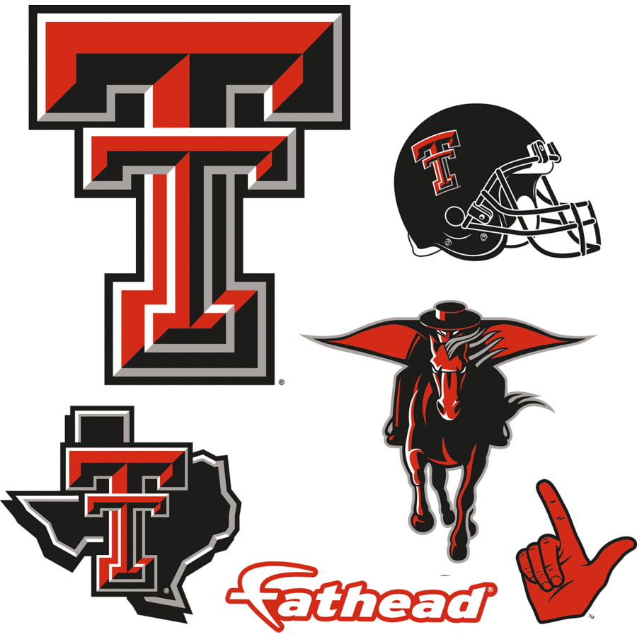 Texas Tech Red Raiders: Logo Assortment.