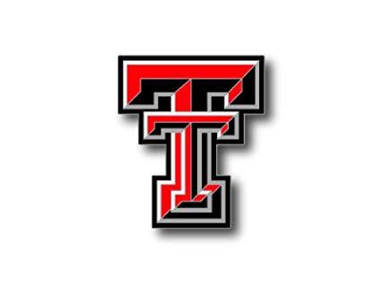 aminco NCAA Texas Tech Red Raiders Logo Pin: Amazon.co.uk.