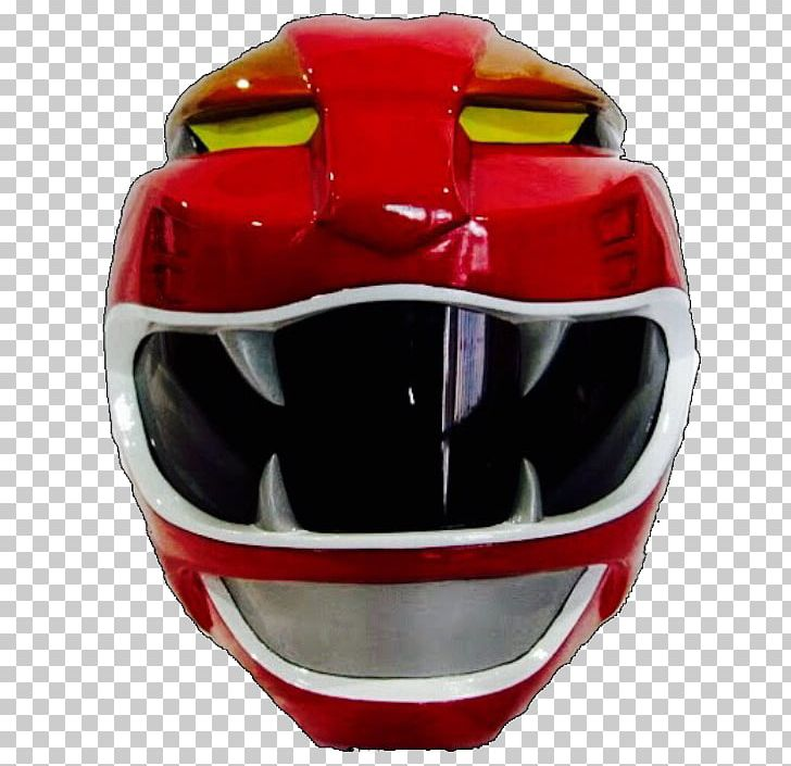 Red Ranger Tommy Oliver Motorcycle Helmets Power Rangers.