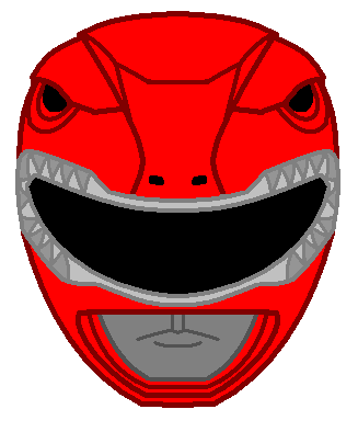 Red Power Ranger Clipart.