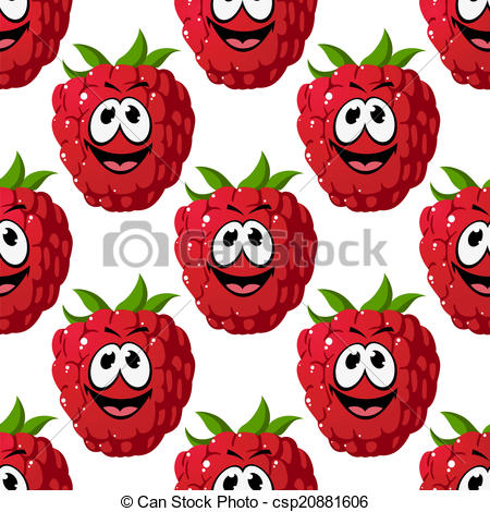 Red raspberry clipart #15
