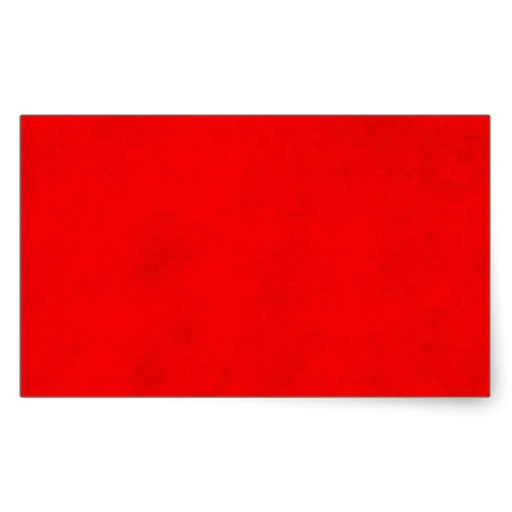 Christmas Bright Red Color Parchment Paper Blank Rectangle.